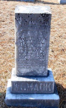 WOMACK, BEULAH - Caldwell County, Louisiana | BEULAH WOMACK - Louisiana Gravestone Photos
