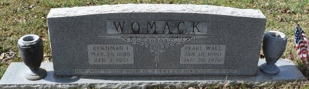 WOMACK, PEARL - Caldwell County, Louisiana | PEARL WOMACK - Louisiana Gravestone Photos