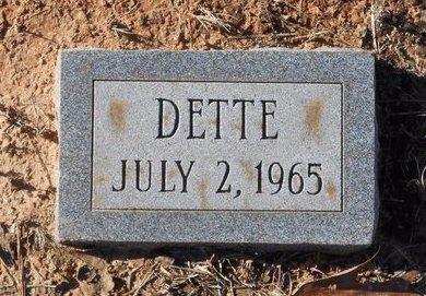 WOMACK, DETTE - Caldwell County, Louisiana | DETTE WOMACK - Louisiana Gravestone Photos