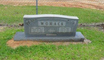 WOMACK, GEORGE ELLIS,REV - Caldwell County, Louisiana   GEORGE ELLIS,REV WOMACK - Louisiana Gravestone Photos