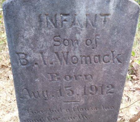 WOMACK, INFANT SON - Caldwell County, Louisiana | INFANT SON WOMACK - Louisiana Gravestone Photos