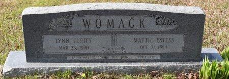 WOMACK, LYNN FLUITT - Caldwell County, Louisiana | LYNN FLUITT WOMACK - Louisiana Gravestone Photos