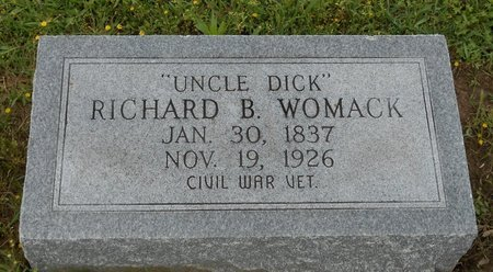 WOMACK, RICHARD B (VETERAN CSA) - Caldwell County, Louisiana | RICHARD B (VETERAN CSA) WOMACK - Louisiana Gravestone Photos