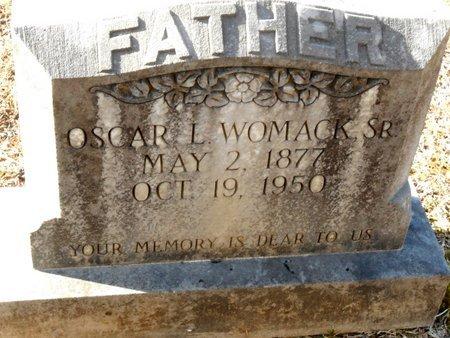 WOMACK, OSCAR,SR - Caldwell County, Louisiana | OSCAR,SR WOMACK - Louisiana Gravestone Photos