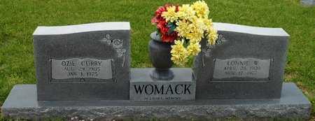 WOMACK, LONNIE W - Caldwell County, Louisiana | LONNIE W WOMACK - Louisiana Gravestone Photos