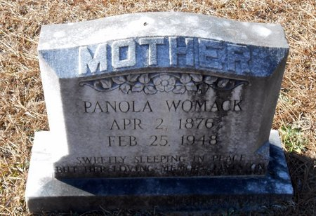 WOMACK, PANOLA - Caldwell County, Louisiana | PANOLA WOMACK - Louisiana Gravestone Photos