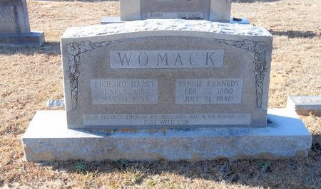 KENNEDY WOMACK, FANNIE - Caldwell County, Louisiana | FANNIE KENNEDY WOMACK - Louisiana Gravestone Photos