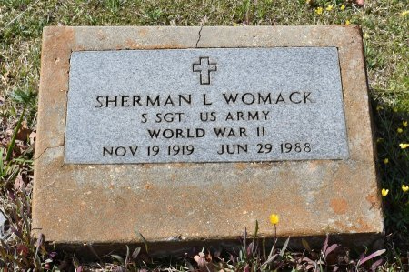 WOMACK, SHERMAN L (VETERAN WWII) - Caldwell County, Louisiana   SHERMAN L (VETERAN WWII) WOMACK - Louisiana Gravestone Photos