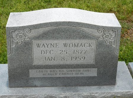 WOMACK, WAYNE - Caldwell County, Louisiana | WAYNE WOMACK - Louisiana Gravestone Photos