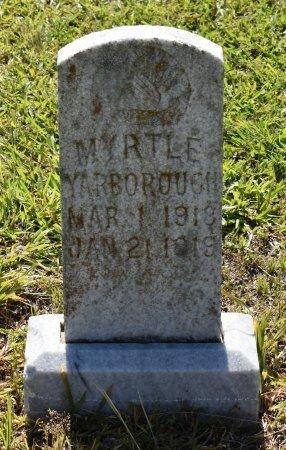 YARBOROUGH, MYRTLE - Caldwell County, Louisiana   MYRTLE YARBOROUGH - Louisiana Gravestone Photos