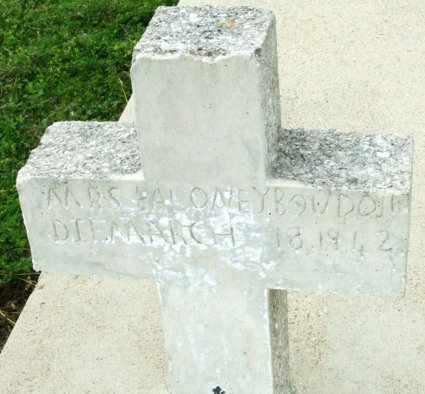 HANKS BOUDOION, AZEMA - Cameron County, Louisiana | AZEMA HANKS BOUDOION - Louisiana Gravestone Photos
