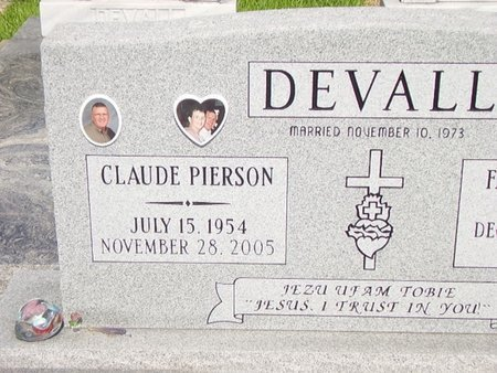 DEVALL, CLAUDE PIERSON - Cameron County, Louisiana | CLAUDE PIERSON DEVALL - Louisiana Gravestone Photos