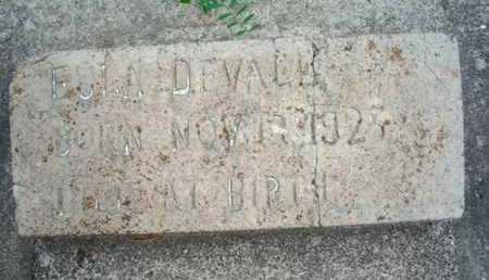 DEVALL, EULA - Cameron County, Louisiana   EULA DEVALL - Louisiana Gravestone Photos