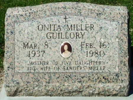 MILLER, ONITA - Cameron County, Louisiana | ONITA MILLER - Louisiana Gravestone Photos