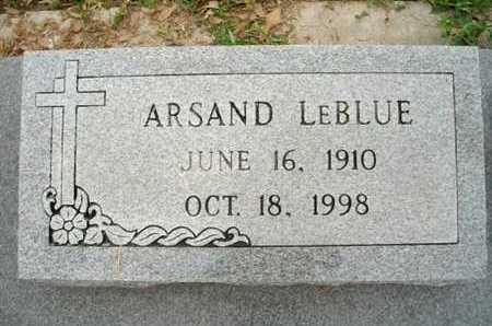 LEBLUE, ARSAND - Cameron County, Louisiana | ARSAND LEBLUE - Louisiana Gravestone Photos
