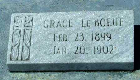 LEBOEUF, GRACE - Cameron County, Louisiana | GRACE LEBOEUF - Louisiana Gravestone Photos