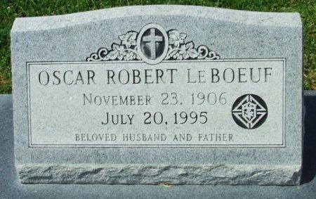 LEBOEUF, OSCAR ROBERT - Cameron County, Louisiana   OSCAR ROBERT LEBOEUF - Louisiana Gravestone Photos