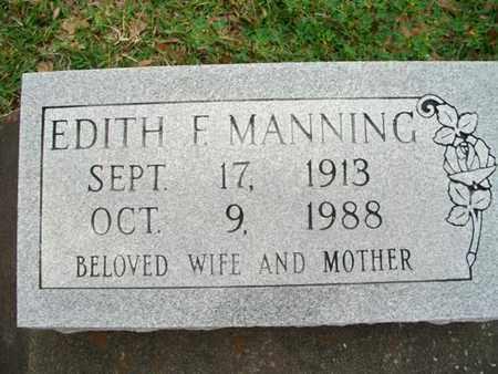 FONTENOT MANNING, EDITH - Cameron County, Louisiana   EDITH FONTENOT MANNING - Louisiana Gravestone Photos