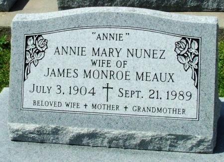 MEAUX, ANNIE MARY - Cameron County, Louisiana | ANNIE MARY MEAUX - Louisiana Gravestone Photos