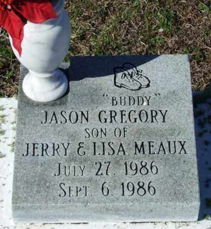 "MEAUX, JASON GREGORY  ""BUDDY"" - Cameron County, Louisiana   JASON GREGORY  ""BUDDY"" MEAUX - Louisiana Gravestone Photos"