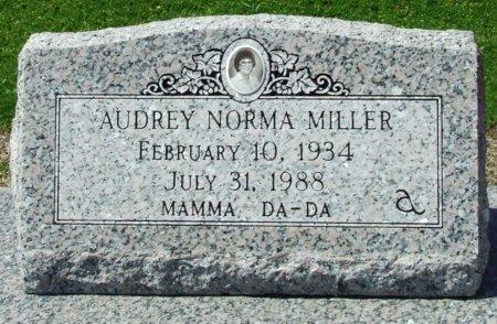 MILLER, AUDREY NORMA - Cameron County, Louisiana | AUDREY NORMA MILLER - Louisiana Gravestone Photos