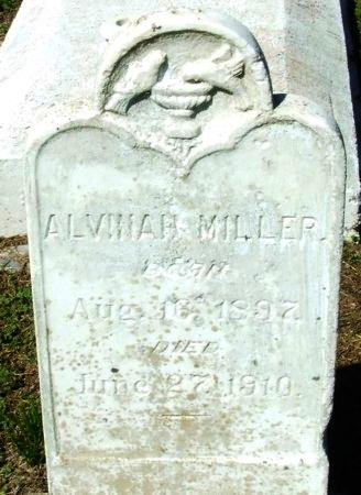 MILLER, ALVINAH - Cameron County, Louisiana   ALVINAH MILLER - Louisiana Gravestone Photos