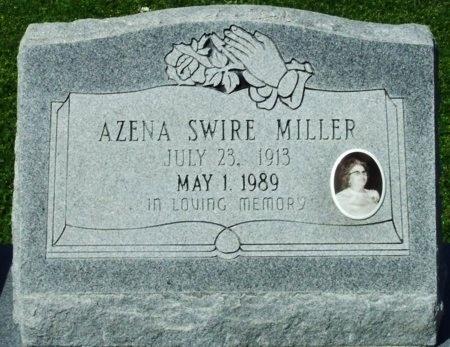 MILLER, AZENA (CLOSEUP) - Cameron County, Louisiana | AZENA (CLOSEUP) MILLER - Louisiana Gravestone Photos