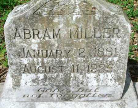 """MILLER, ABRAHAM ALVA """"ABRAM"""" - Cameron County, Louisiana   ABRAHAM ALVA """"ABRAM"""" MILLER - Louisiana Gravestone Photos"""