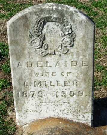 MILLER, ADELAIDE - Cameron County, Louisiana | ADELAIDE MILLER - Louisiana Gravestone Photos