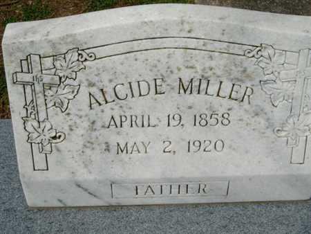 MILLER, ALCIDE - Cameron County, Louisiana   ALCIDE MILLER - Louisiana Gravestone Photos