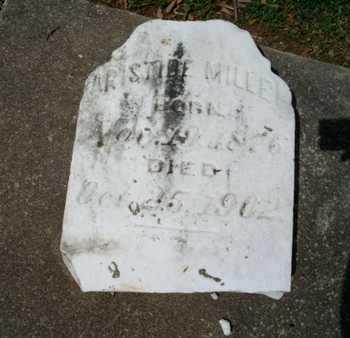 MILLER, ARISTIDE - Cameron County, Louisiana | ARISTIDE MILLER - Louisiana Gravestone Photos