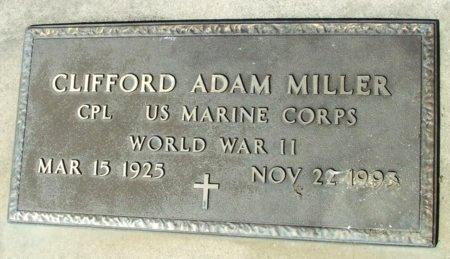 MILLER, CLIFFORD ADAM   (VETERAN WWII) - Cameron County, Louisiana | CLIFFORD ADAM   (VETERAN WWII) MILLER - Louisiana Gravestone Photos