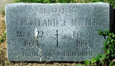 """MILLER, CLEVELAND JOSEPH  """"BLACKBIRD"""" - Cameron County, Louisiana   CLEVELAND JOSEPH  """"BLACKBIRD"""" MILLER - Louisiana Gravestone Photos"""
