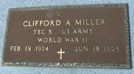 MILLER, CLIFFORD A  (VETERAN WWII) - Cameron County, Louisiana | CLIFFORD A  (VETERAN WWII) MILLER - Louisiana Gravestone Photos