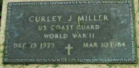 MILLER, CURLEY J  (VETERAN WWII) - Cameron County, Louisiana   CURLEY J  (VETERAN WWII) MILLER - Louisiana Gravestone Photos