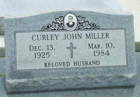 MILLER, CURLEY JOHN - Cameron County, Louisiana | CURLEY JOHN MILLER - Louisiana Gravestone Photos
