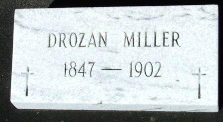 MILLER, DROZAN - Cameron County, Louisiana | DROZAN MILLER - Louisiana Gravestone Photos