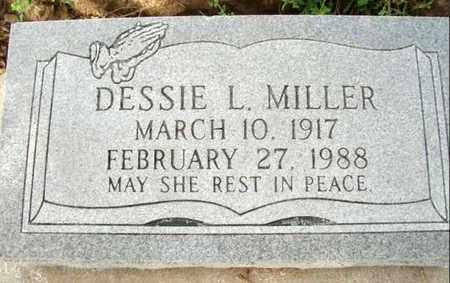 MILLER, DESSIE L - Cameron County, Louisiana   DESSIE L MILLER - Louisiana Gravestone Photos