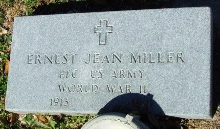 MILLER, ERNEST JEAN  (VETERANWWII) - Cameron County, Louisiana | ERNEST JEAN  (VETERANWWII) MILLER - Louisiana Gravestone Photos
