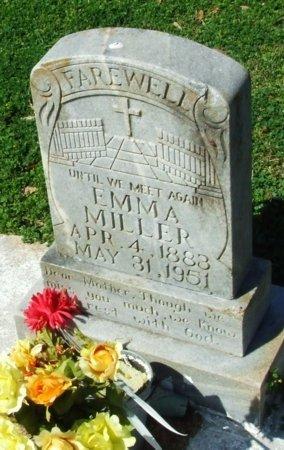 MILLER, EMMA - Cameron County, Louisiana   EMMA MILLER - Louisiana Gravestone Photos
