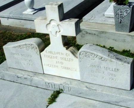 MILLER, SIMON - Cameron County, Louisiana | SIMON MILLER - Louisiana Gravestone Photos