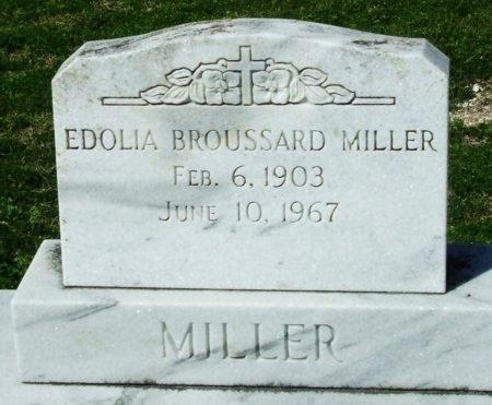 MILLER, EDOLIA - Cameron County, Louisiana | EDOLIA MILLER - Louisiana Gravestone Photos