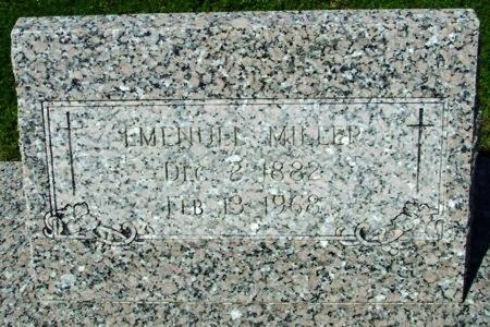 MILLER, EMENUEL - Cameron County, Louisiana | EMENUEL MILLER - Louisiana Gravestone Photos