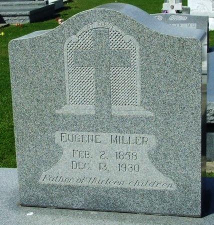 MILLER, EUGENE - Cameron County, Louisiana | EUGENE MILLER - Louisiana Gravestone Photos