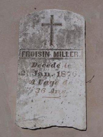 MILLER, FROISIN (EUPHROISIN) - Cameron County, Louisiana | FROISIN (EUPHROISIN) MILLER - Louisiana Gravestone Photos