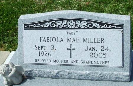 "MILLER, FABIOLA MAE  ""FABY"" - Cameron County, Louisiana | FABIOLA MAE  ""FABY"" MILLER - Louisiana Gravestone Photos"