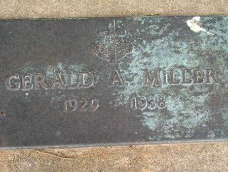 MILLER, GERALD A - Cameron County, Louisiana   GERALD A MILLER - Louisiana Gravestone Photos