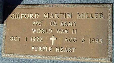 MILLER, GILFORD MARTIN  (VETERAN WWII) - Cameron County, Louisiana | GILFORD MARTIN  (VETERAN WWII) MILLER - Louisiana Gravestone Photos