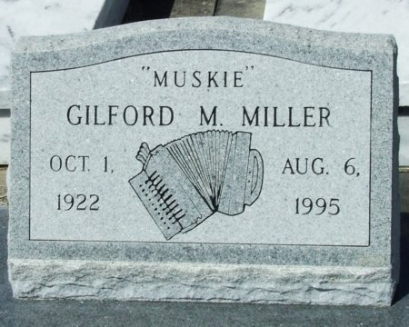 "MILLER, GILFORD MARTIN  ""MUSKIE"" - Cameron County, Louisiana | GILFORD MARTIN  ""MUSKIE"" MILLER - Louisiana Gravestone Photos"