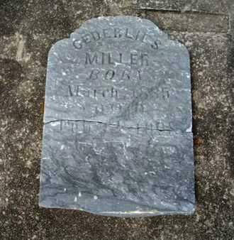 MILLER, GEDERLIES - Cameron County, Louisiana | GEDERLIES MILLER - Louisiana Gravestone Photos